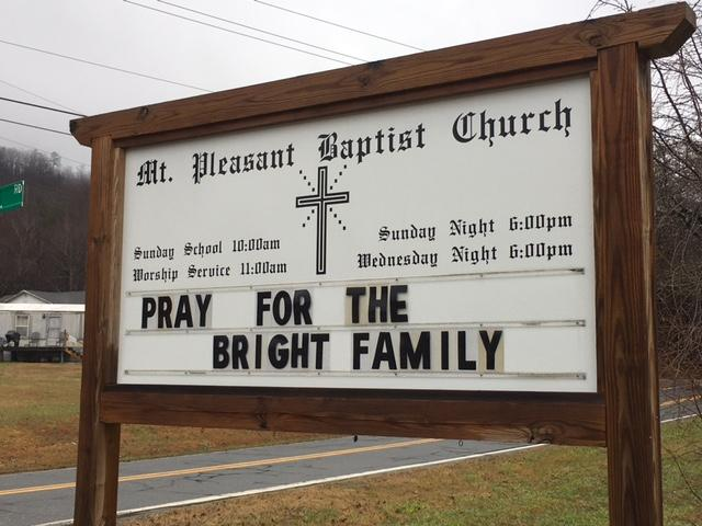 Jason Bright works full-time for the city of Marion in public works for streets, but he also pastors at Mt. Pleasant Baptist Church. (Photo credit: WLOS staff)