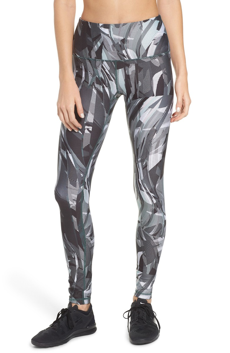 Print Slick High Waist Leggings - $75.{&amp;nbsp;}Looking for a jumpstart to your workout wardrobe? Zella, a Nordstrom brand, has you covered. Find more info and buy online at shop.nordstrom.com/c/all-zella. (Image: Nordstrom)<p></p><p></p>