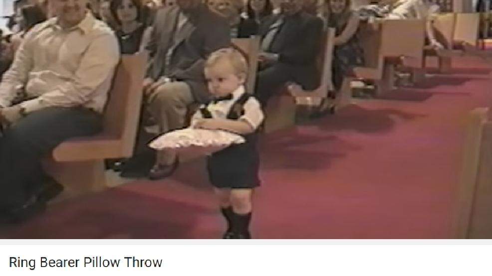 Boy Wedding Throw Way Ring