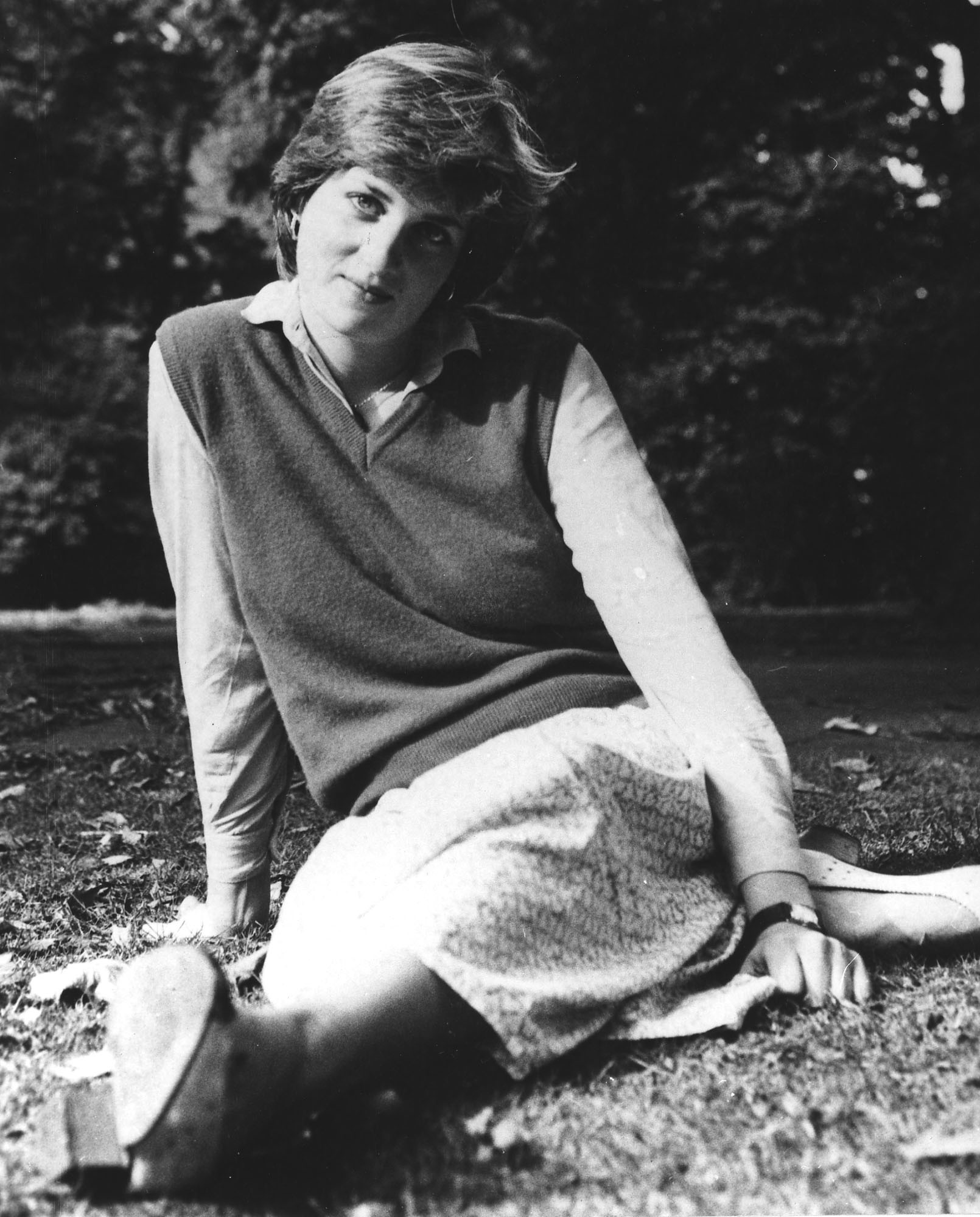 "FILE - In this 1980 file photo, Lady Diana Spencer, 21, Prince Charles's girlfriend, is pictured at the Kindergarten in St. Georges Square, Pimlico, London, where she works as a teacher. It has been 20 years since the death of Princess Diana in a car crash in Paris and the outpouring of grief that followed the death of the ""people's princess.""                   (AP Photo, File)"