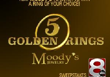 Moody's five golden rings contest rules