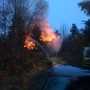 Early morning blaze destroys Auburn home