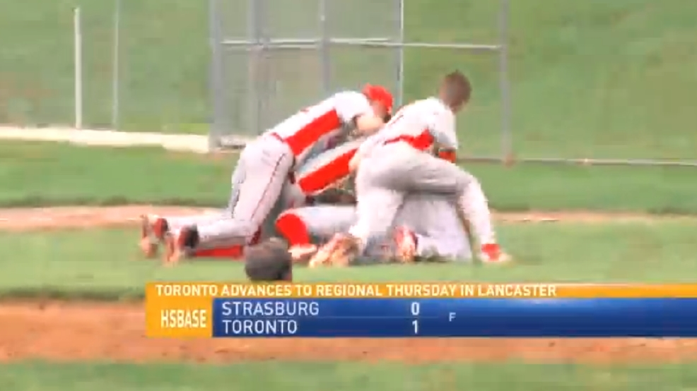 5.18.16 Video- Strasburg vs. Toronto- OHSAA division 4 district championship