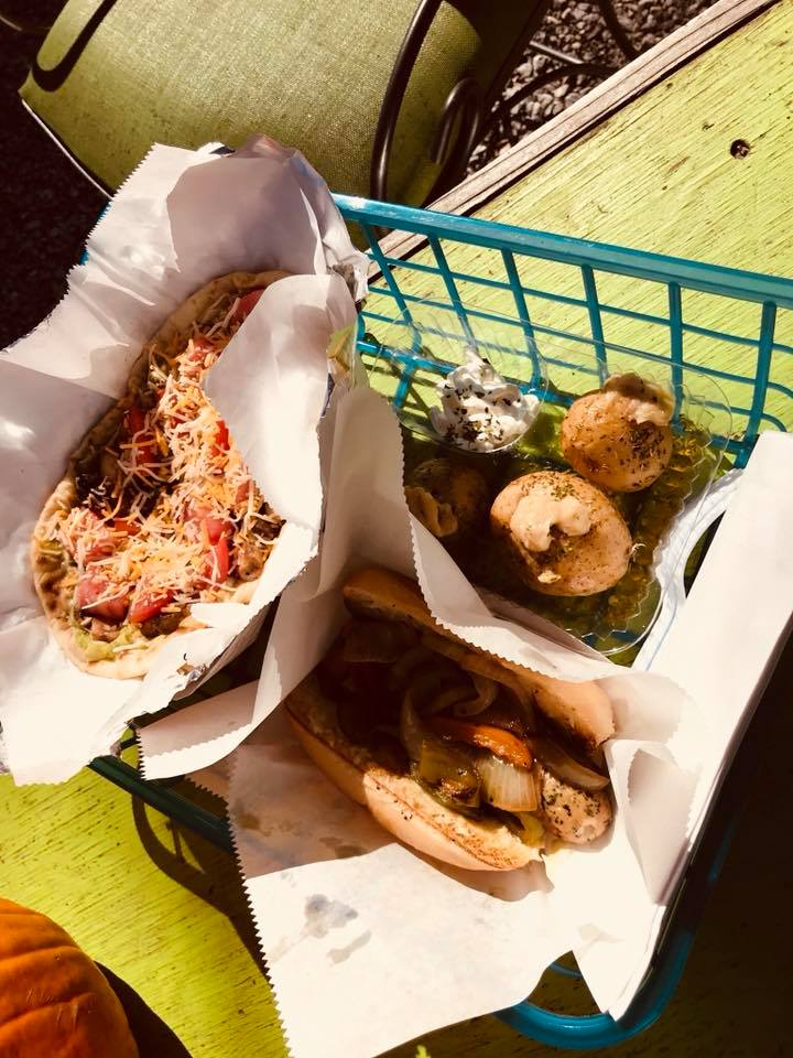 Dahlia's on the Davidson is a food truck that has a permanent location at the entrance to the Pisgah National Forest in Brevard. (Photo credit: Katie Killen, WLOS)