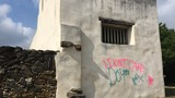 Vandals target San Antonio missions with 'I don't care do you' message