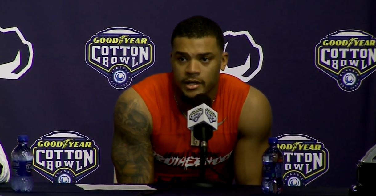 OSU defensive back Damon Webb (WSYX/WTTE)<p></p>
