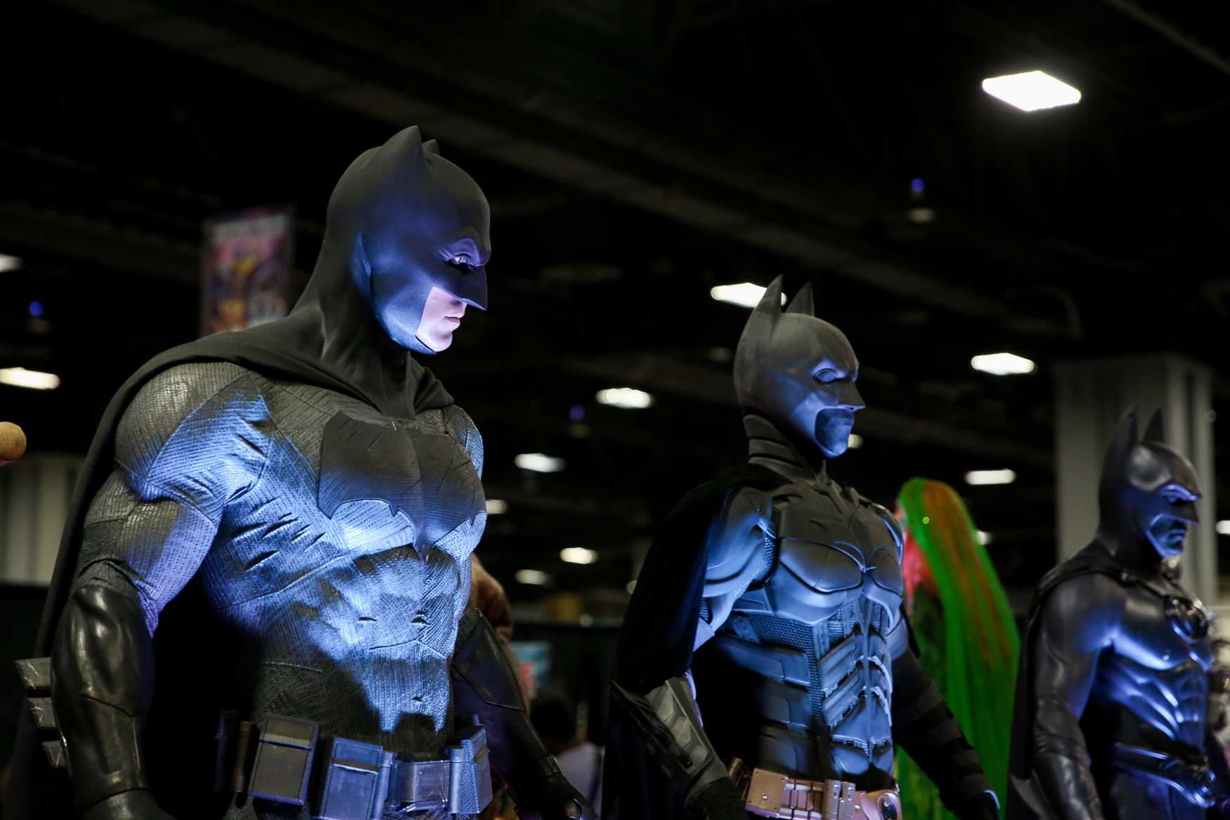 Nearly 40,000 people swarmed the Walter E. Washington Convention Center for day two of Awesome Con. The convention, which celebrates all things nerdy and geeky, featured thousands of cosplayers, a collection of Batman costumes, works from artists and more! The convention will conclude tomorrow and upwards of 80,000 people are expected to attend over Awesome Con's three-day run. (Amanda Andrade-Rhoades/DC Refined)