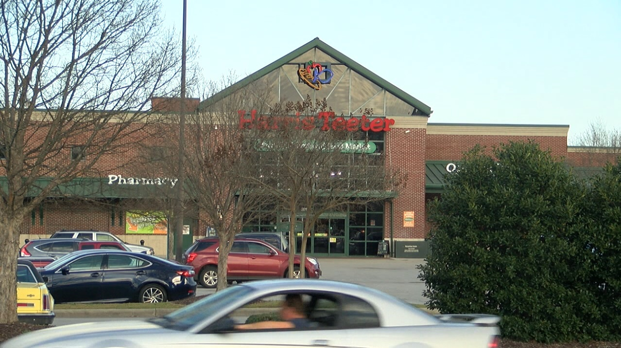 Valeria Truitt said thanks to employees at Harris Teeter, she was given immediate care. However, she wants others to be aware this activity is going on and that people should be more careful and aware of their surroundings. (Greg Payne, NewsChannel 12 photo)<p></p>