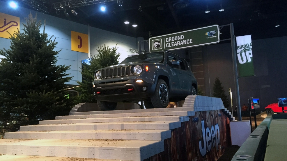Camp Jeep Brings Outdoors Inside For A One Of A Kind