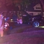 1 injured, 1 arrested after SUV crashed into tree in front yard of Kettering home