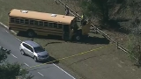 Charles Co. Sheriff's: School bus involved in 2-car collision in Maryland