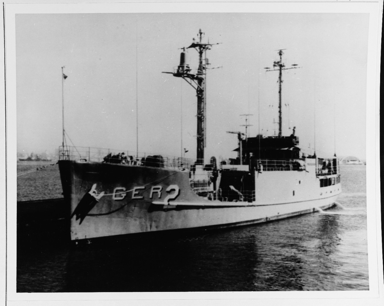 In port, circa 1967. This photograph was received by the Naval Photographic Center in January 1968. Official U.S. Navy Photograph.