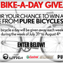 KUTV Bike A Day Giveaway