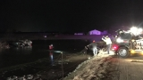 Man pulled from water after crash in Ligonier has died
