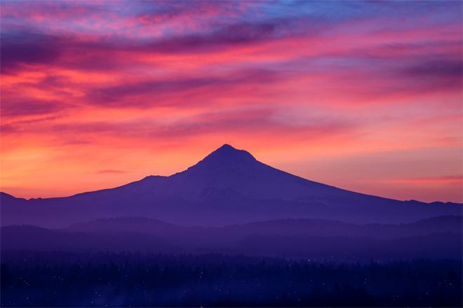 Mt. Hood Sunrise -- Photo courtesy YouNews contributor: Gavin5808