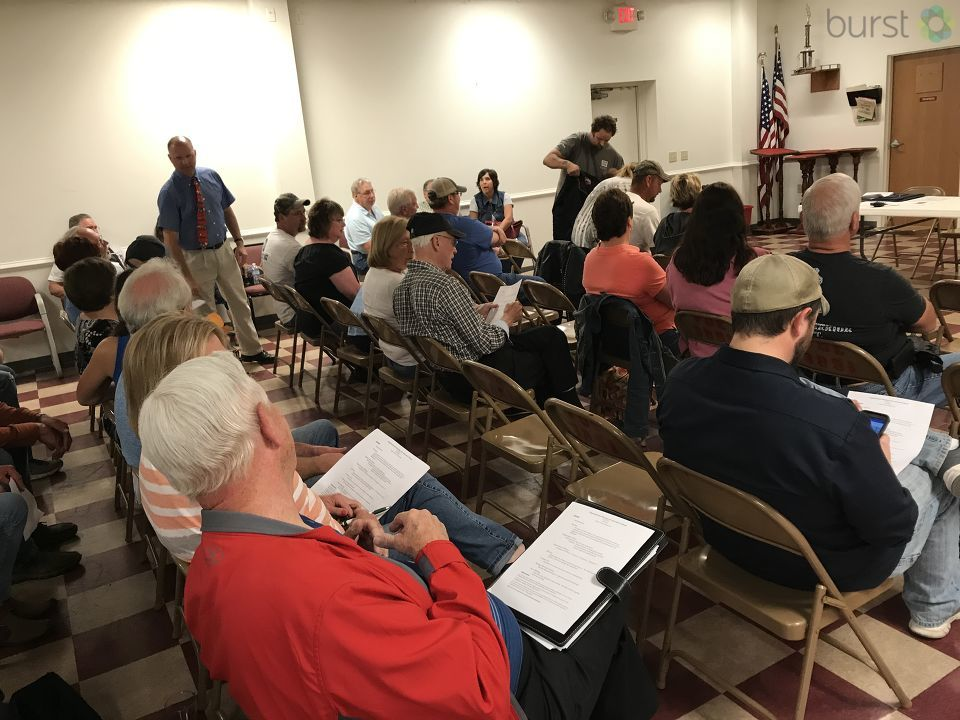 People living in the Durand area concerned over a plan to build a $5 Billion facility in the town. (Photo Credit: Drew Moore/WSMH)