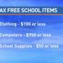 Tax free weekend starts Friday