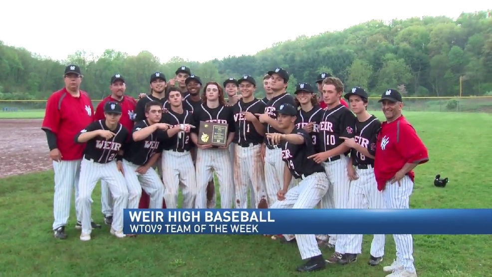 5.16.16 Team of the Week - Weir High baseball