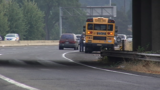 School bus involved in crash on Delta Hwy; students OK