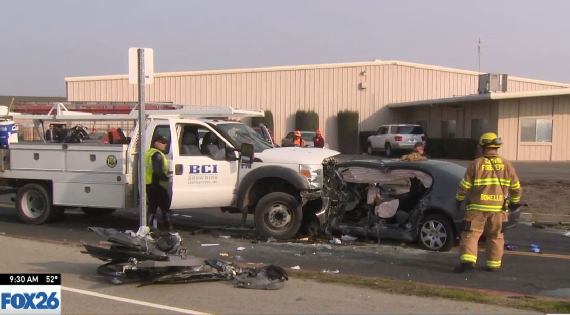 Minnewawa north of Herndon in Clovis is closed due to a head-on collision (FOX26)