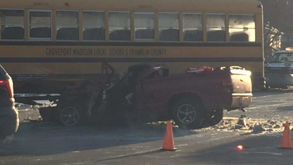 Person hospitalized, kids treated at scene after bus-involved ...