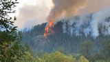 Largest W. Wash. wildfire torches 800 acres in Olympics; hikers ordered to leave