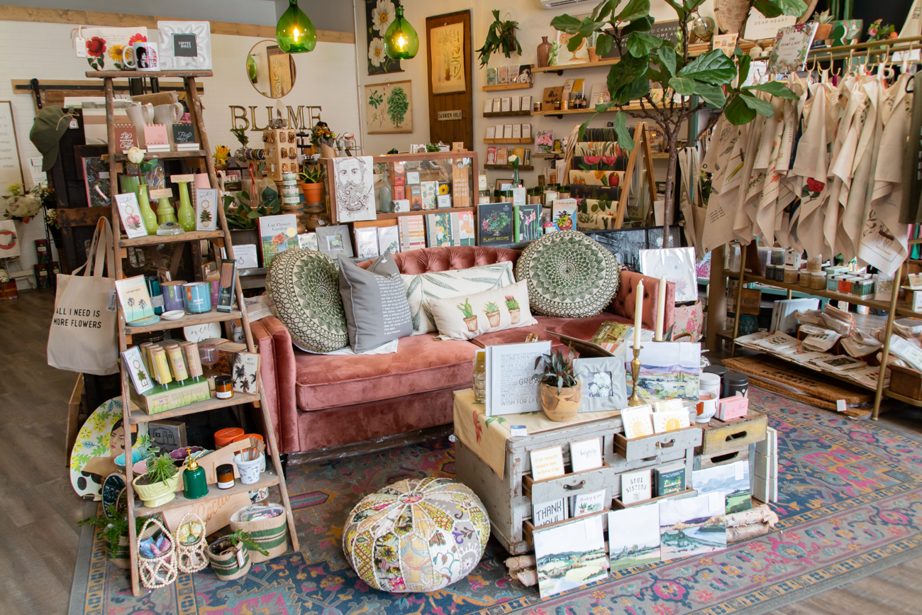 Blume is a locally owned home and garden shop that carries a variety of handmade items, vintage-inspired pieces, and one-of-a-kind finds. Its newest location opened in May 2020 in Downtown Loveland, moving just around the corner from where it had initially shared retail space with a since-closed Magnolia. Blume's flagship store is located in Downtown Lebanon. ADDRESS: 205 W Loveland Avenue (45140) / Image: Elizabeth A. Lowry // Published: 9.10.20