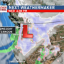 Next Weather Maker arrives on Wednesday