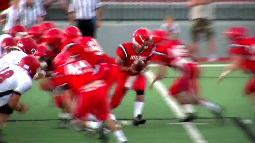 8.17.16 Video - Steubenville vs Struthers football scrimmage