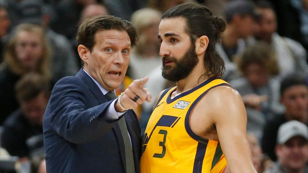 best sneakers f3435 363b8 Ricky Rubio says he is no longer a priority for the Jazz | KJZZ