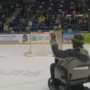 Veteran surprised with new scooter at RoughRiders game