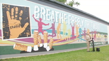 Mural painted by kids in the HAALO program encourages Trotwood to 'breathe freely'
