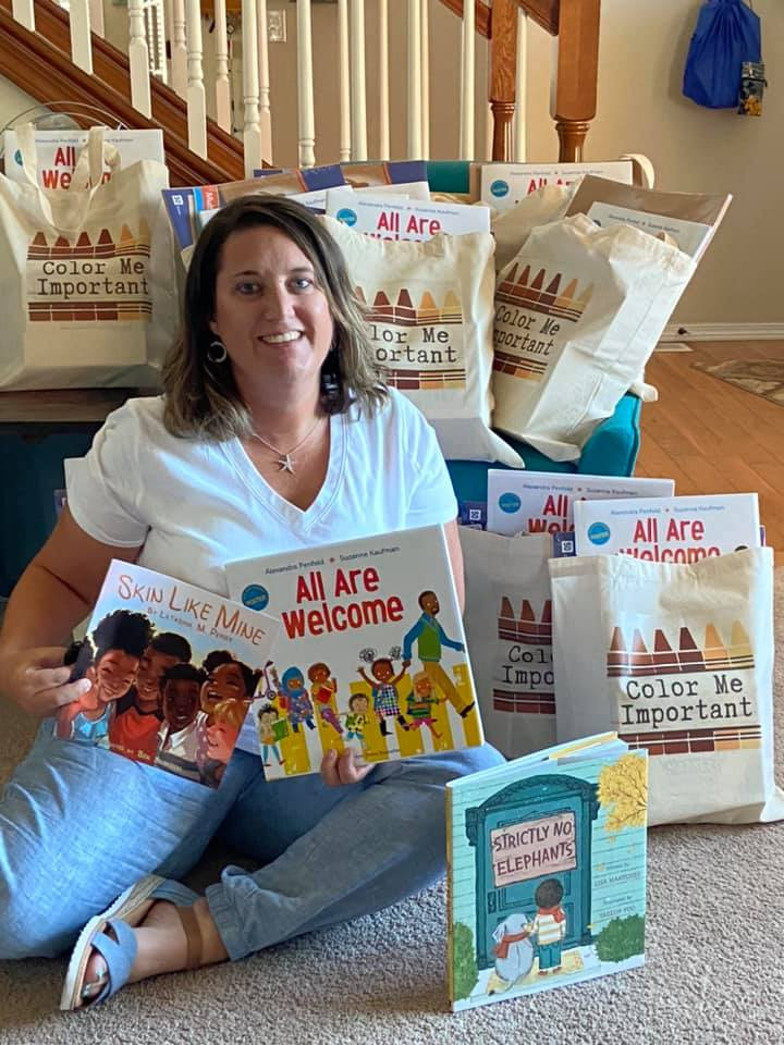 Marnie Gray started 'Color Me Important'. The organization gifts local teachers with creative multi cultural supplies for their classrooms. (Image: Marnie Gray)