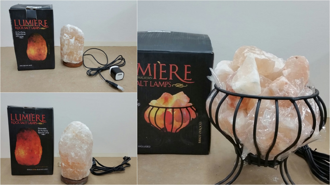 CPSC: Pink rock salt lamps sold at Michaels recalled over possible ...