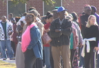 Line outside Berkeley High School old gymnasium waiting for turkey giveaway with Third Eye Witness and Charlamagne Tha God (WCIV).jpg