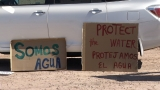Protestors say new pipeline in San Elizario will contaminate El Paso drinking water