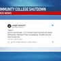 Community college closes campuses, citing threat of violence