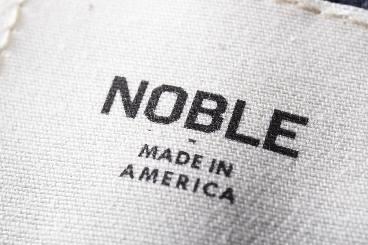Noble Denim: Sustainably sourced, creatively designed, lovingly constructed, just-plain-awesome jeans (& other items) made in small batches right here in good ol' Cincinnati. ... Oh, and did we mention everything's stunningly handsome as well? Well, it is. Stunningly. Handsome.  For the whole Noble story, visit www.nobledenim.com. (Image provided by Noble Denim)