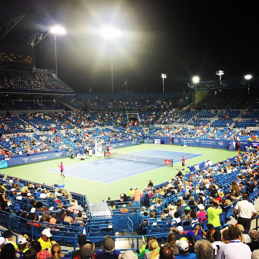 IMAGE: IG user @robertjoerg / POST: Such a great time seeing all the top players compete. Until next year. #westernandsouthernopen #cincinnatitennis #atpworldtour