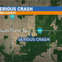 Serious crash closes road in Barry County