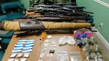 About $60,000 worth of crystal meth, 36 firearms seized in bust in Greenbrier County