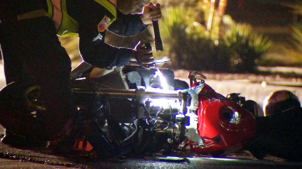 Motorcyclist dead after crash on Mesa Hills and Sunland Park<p></p>