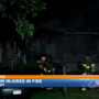 One person injured in house fire