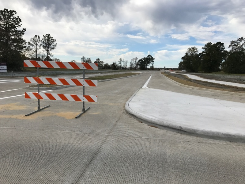 <p>The remaining section of Northwest Parkway from Old Dowlen to Major Drive is still under construction and will remain closed until it's finished.</p>