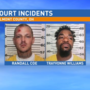 Separate incidents highlight day inside, outside of Western Division Court