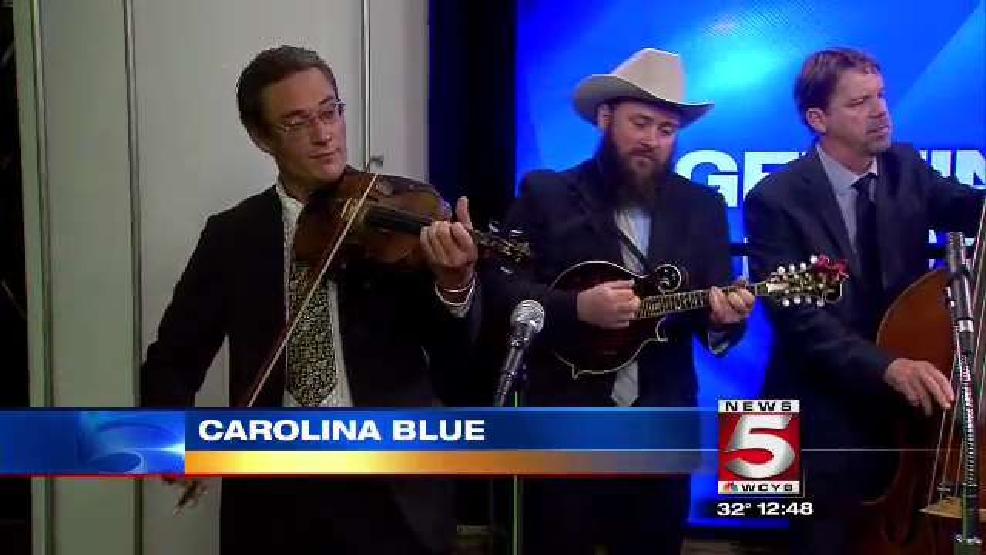 Carolina Blue performs on News 5 at Noon