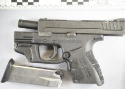 Police said this gun was found at the scene of the shooting. (Photo: Seattle Police Department)<p></p>