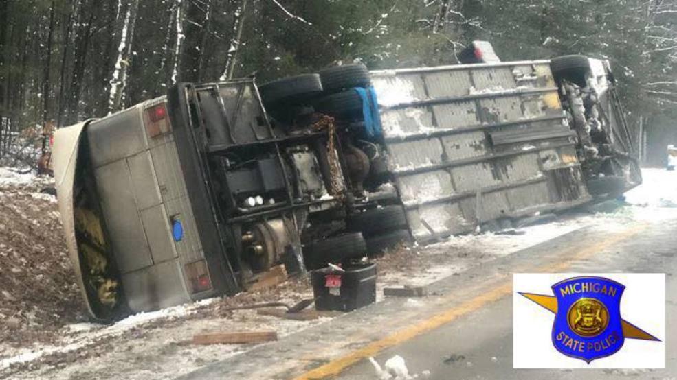 Multiple Passengers Injured In Bus Crash Wpbn