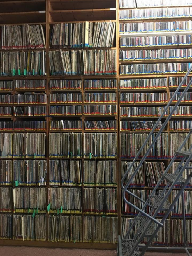 KPON has been opened since the 70's and still plays music from CD's and vinyl records. They have a vast collection from African music to spoken word Swedish ensembles. (Gabriella Nuñez/KRCG13)