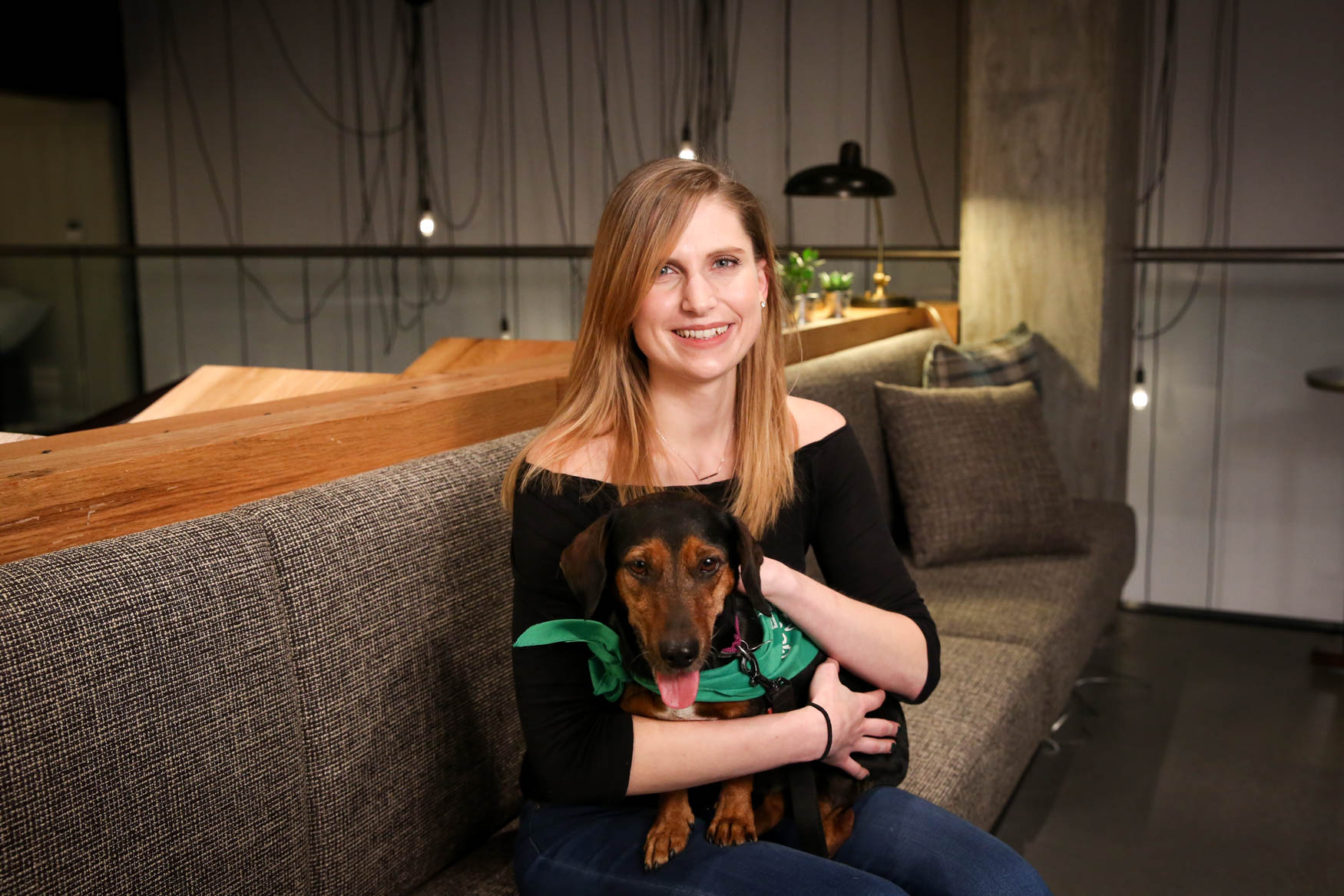 Sam is originally from Virginia Beach and currently works for a nonprofit. She plays viola in a community orchestra and is an avid reader. Sam would like to add yoga to her hobby list, and bonus points if puppies are involved. Learn more about Sam on our Facebook page. Photo location: Moxy Washington, D.C. Downtown (Image: Amanda Andrade-Rhoades/ DC Refined)